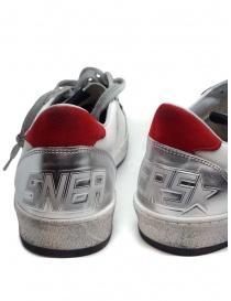 Golden Goose Ball Star sneaker bianca rossa calzature uomo prezzo