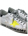 Golden Goose Superstar Have a Golden Day sneakers G36MS590.T75 WHT-YEL STAR SIGN buy online