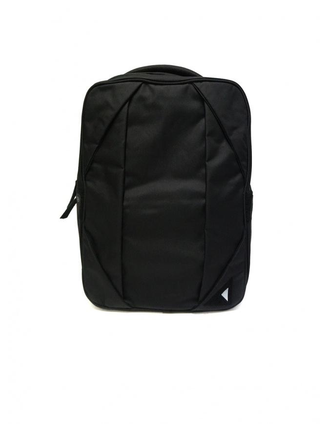 Nunc NN002010 Rectangle black backpack NN002010 RECTANGLE BLACK bags online shopping