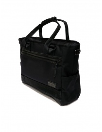 Master-Piece Rise black shoulder bag
