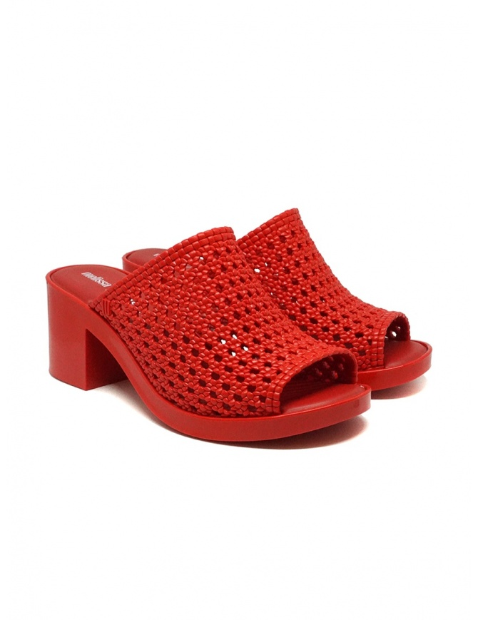 Melissa Mule II + Jason Wu braided sandals 32741 01371 RED womens shoes online shopping