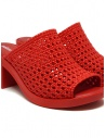 Melissa Mule II + Jason Wu braided sandals 32741 01371 RED buy online