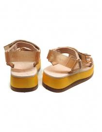 Melissa Papete Platform + Rider pink and yellow sandals price