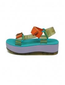 Melissa Papete Platform + Rider lilac sole sandals