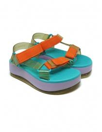 Calzature donna online: Melissa Papete Platform + Rider sandali suola lilla