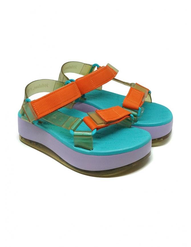Melissa Papete Platform + Rider lilac sole sandals RIDER PLAT. 32901 53652 VIOLET womens shoes online shopping