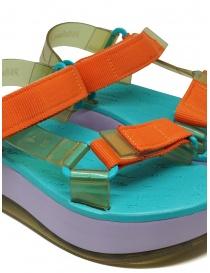 Melissa Papete Platform + Rider lilac sole sandals womens shoes buy online