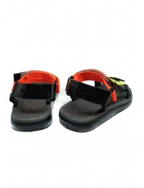 Melissa Papete + Rider black and fluo sandals price