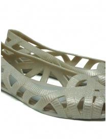 Melissa + Jason Wu glitter beige braided ballet flats womens shoes buy online