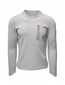 Maglieria uomo online: Descente Fusionknit Capsule felpa bianca