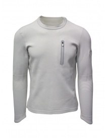 Descente Fusionknit Capsule white sweatshirt online