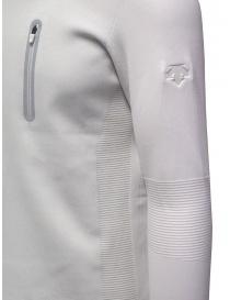 Descente Fusionknit Capsule white sweatshirt mens knitwear buy online