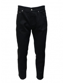 Mens jeans online: Golden Goose black jeans with crease