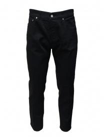 Golden Goose jeans nero con la piega G36MP506.A1 BLACK order online
