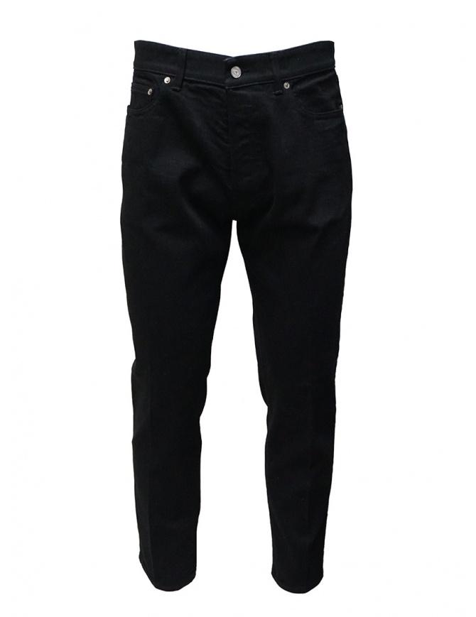 Golden Goose jeans nero con la piega G36MP506.A1 BLACK jeans uomo online shopping