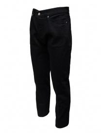 Golden Goose jeans nero con la piega