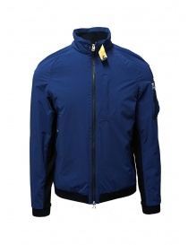 Mens jackets online: Parajumpers Hagi Interstallar blue and black bomber