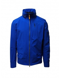 Mens jackets online: Parajumpers Tsuge royal blue windbreaker