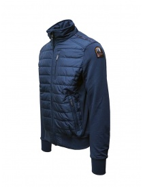 Parajumpers Elliot blue down sweater jacket