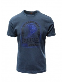 Parajumpers Zeke Interstellar blue t-shirt PMFLETS10 ZEKE INTERSTELLAR order online