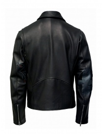 D.D.P. Iconic Brand black studded leather jacket