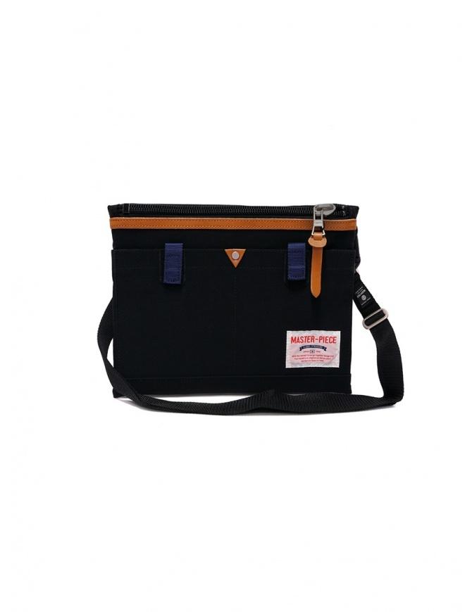 Master-Piece Link black shoulder bag 02343 LINK BLACK bags online shopping