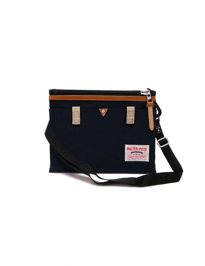 Master-Piece Link navy blue shoulder bag 02343 LINK NAVY bags online shopping