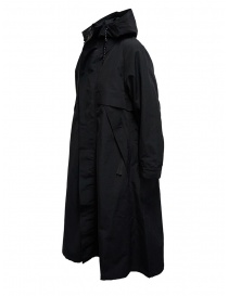 Black Kapital coat with floral lining detail