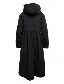 Black Kapital coat with floral lining detail price
