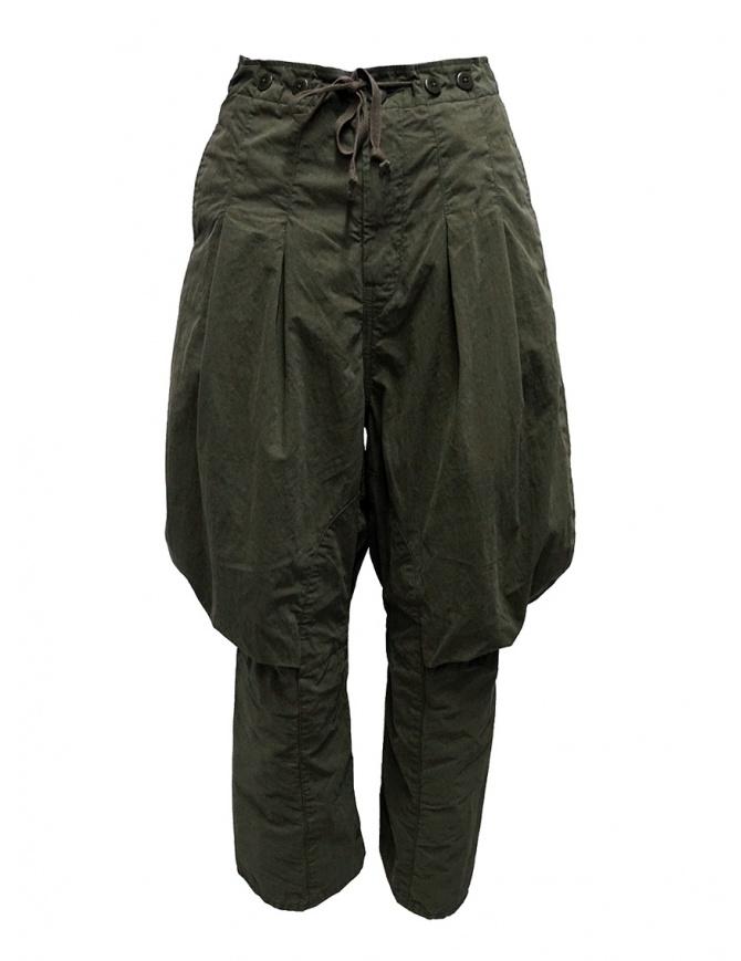 Kapital cargo pants laces behind the knees K1909LP048 KHAKI womens trousers online shopping