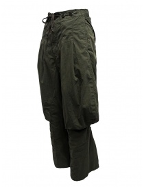 Kapital pantaloni cargo lacci dietro le ginocchia