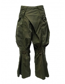 Kapital khaki cargo pants wide on the sides price