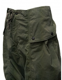 Kapital khaki cargo pants wide on the sides mens trousers buy online