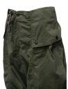 Kapital pantaloni cargo khaki larghi ai lati K1909LP049 KHA acquista online