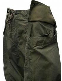 Kapital khaki cargo pants wide on the sides mens trousers price