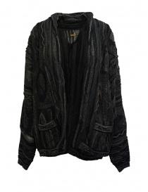 Cardigan donna online: Cardigan Kapital in maglia grigia e nera