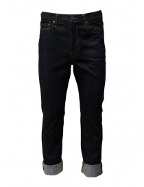 Mens jeans online: Kapital 5-pocket dark blue jeans