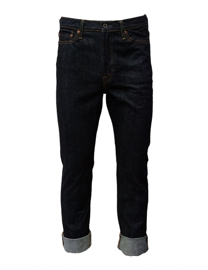 Kapital 5-pocket dark blue jeans SLP021-2 O-W mens jeans online shopping
