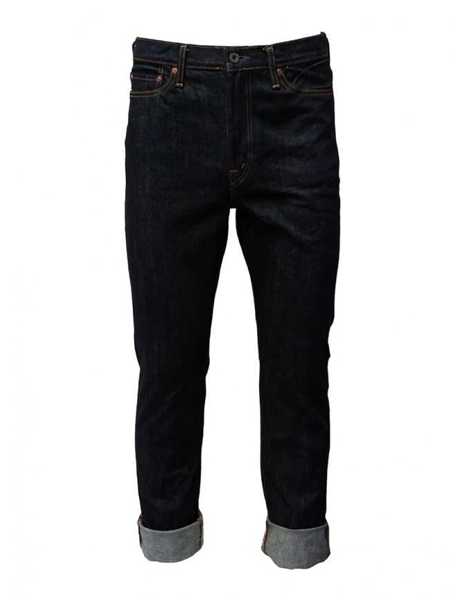 Kapital jeans 5 tasche blu scuro SLP021-2 O-W jeans uomo online shopping