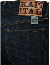 Kapital 5-pocket dark blue jeans mens jeans buy online