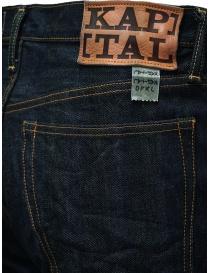 Kapital jeans 5 tasche blu scuro jeans uomo acquista online
