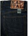 Kapital jeans 5 tasche blu scuro SLP021-2 O-W acquista online