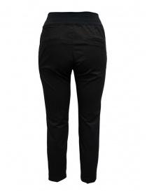European Culture black elastic waistband pants price