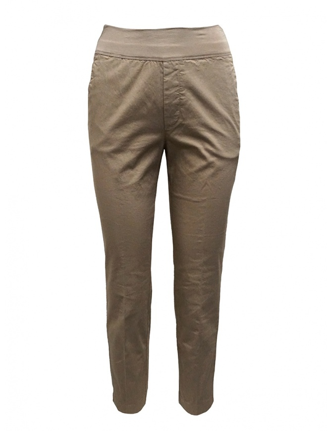 European Culture beige high-end pants 065U 3822 1337 womens trousers online shopping