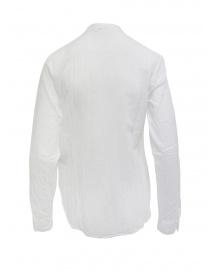 European Culture camicia coreana maniche lunghe bianca prezzo
