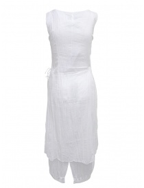 European Culture white sleeveless cotton dress