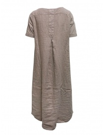 European Culture long beige linen and cotton dress