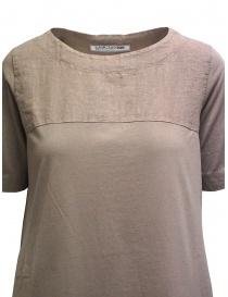 European Culture long beige linen and cotton dress price
