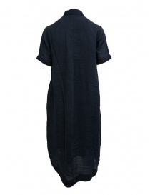 European Culture long blue shirt dress