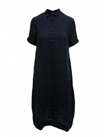 European Culture long blue shirt dress online